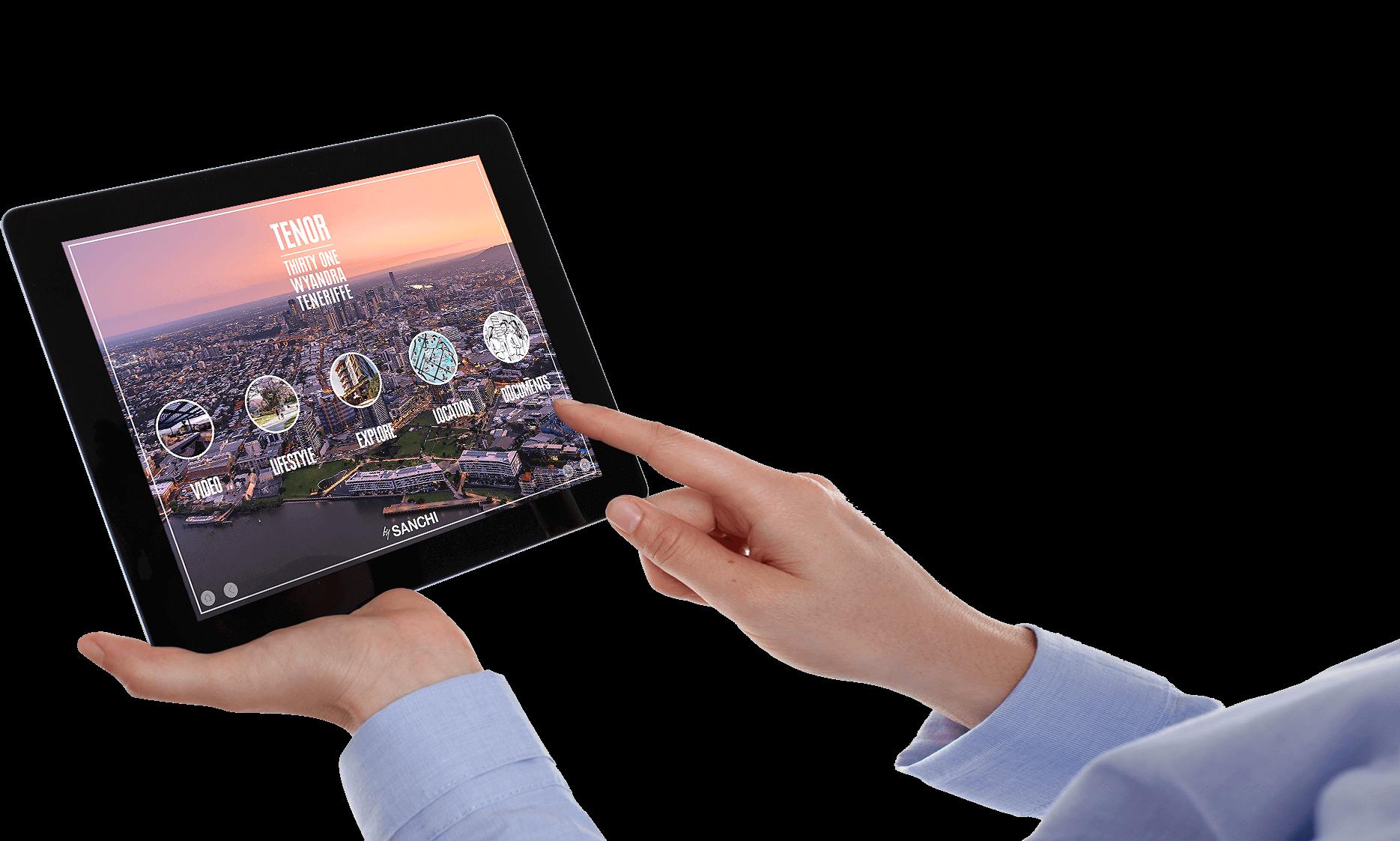 Tenor Sanchi Development iPad Image