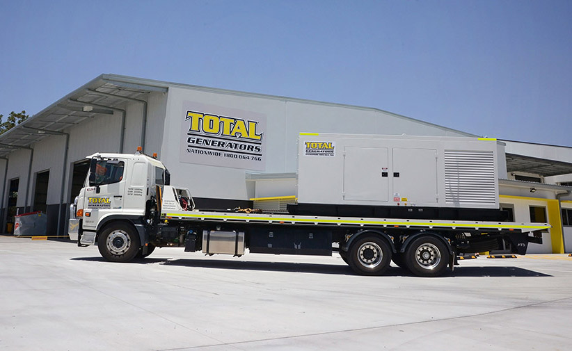 Total-Generators-truck-transport-generator-front-headsoffice-about-us