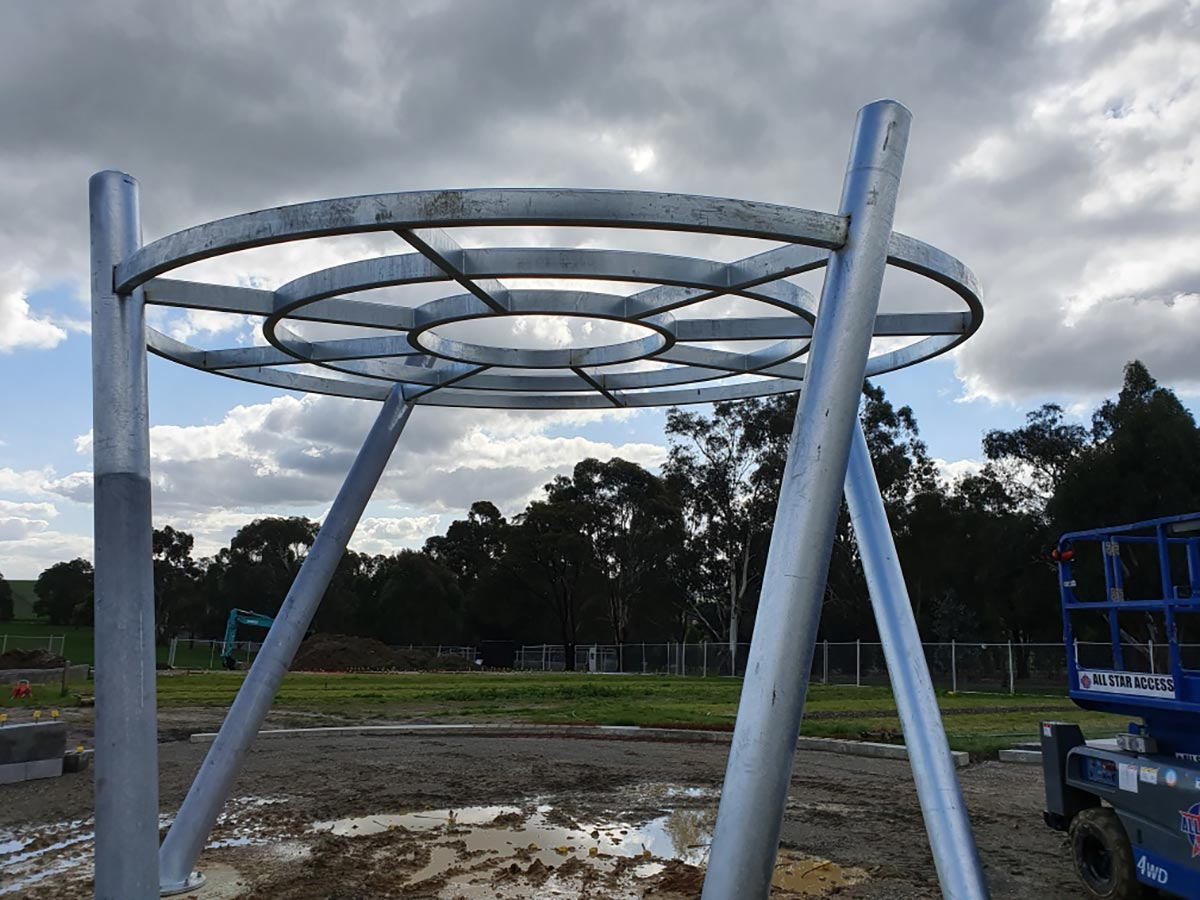 Truline-Engineering-Crop-Vault-with-perf-Structural-Steel-Fabrication-melbourne