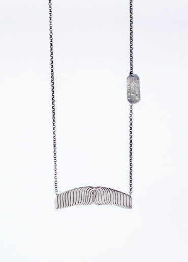 'The Undercover Brother' Sterling silver.