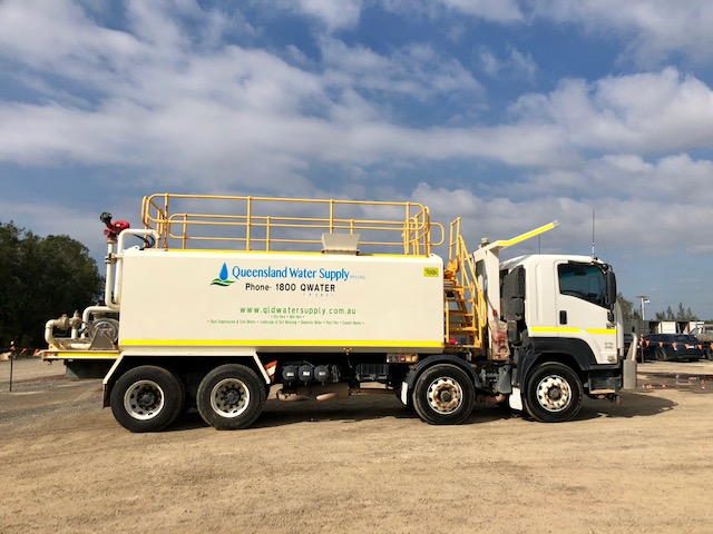 Double Axel Water Trucks Queensland Water Supply Pty Ltd