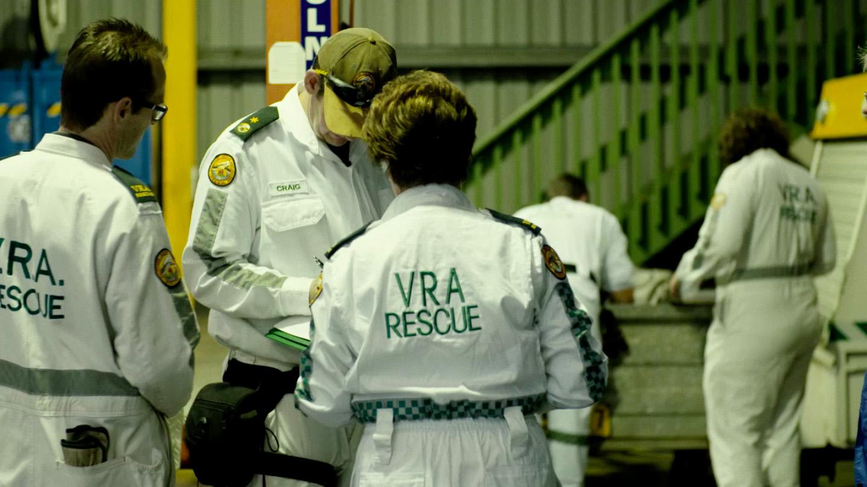 NSW VRA staff working