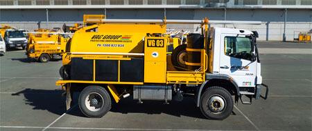 3000L vacuum excavator hire