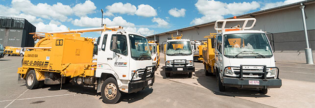 Vacuum Excavation Trucks for hire Ormeau VAC Group