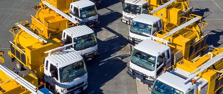 Vacuum excavator hire fleet