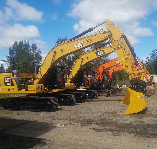 Valley-Earthworks-excavators-Grafton