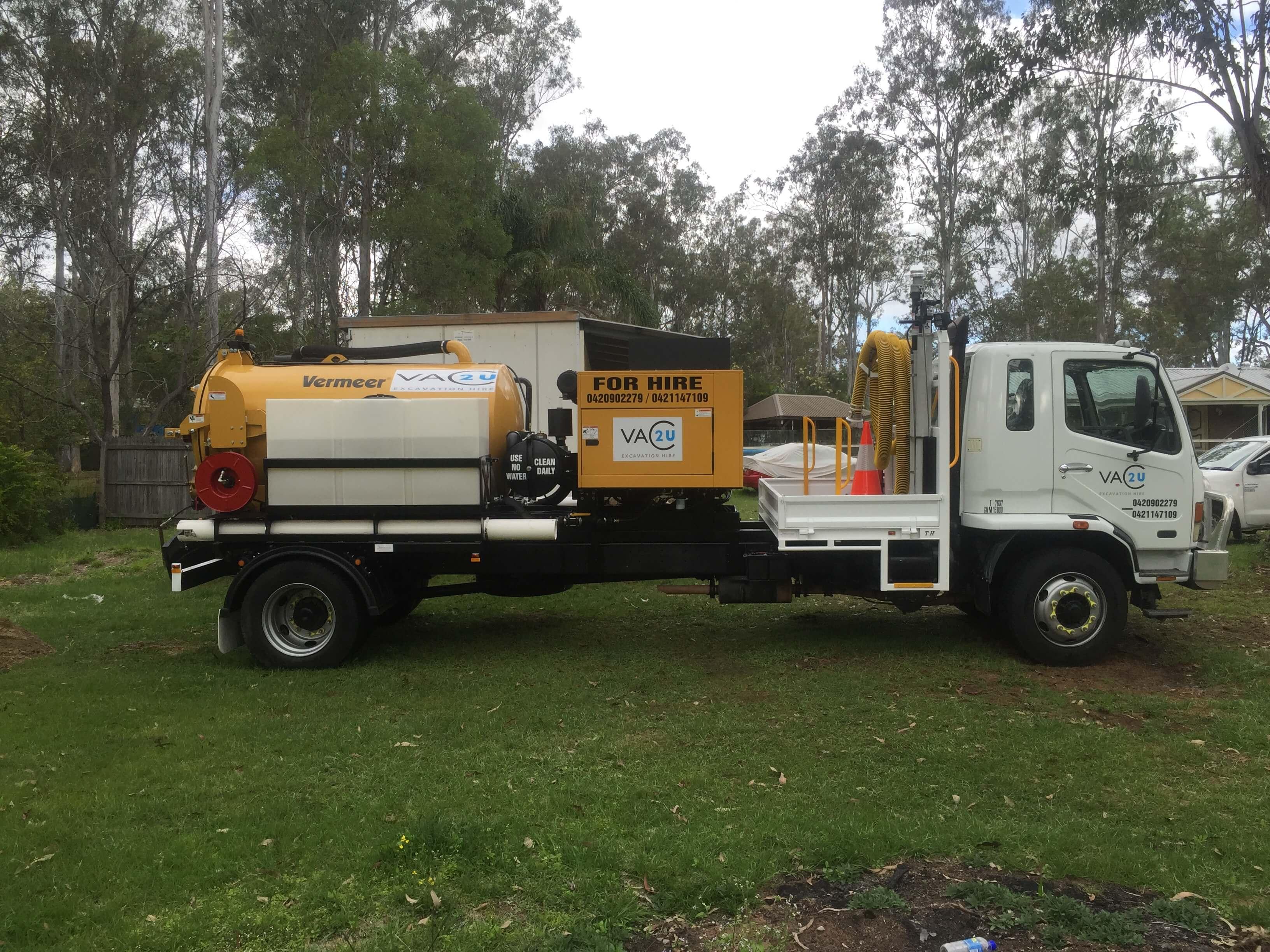 Vermeer VSK800HD Vacuum Truck