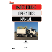 STG Global Water Truck Manual