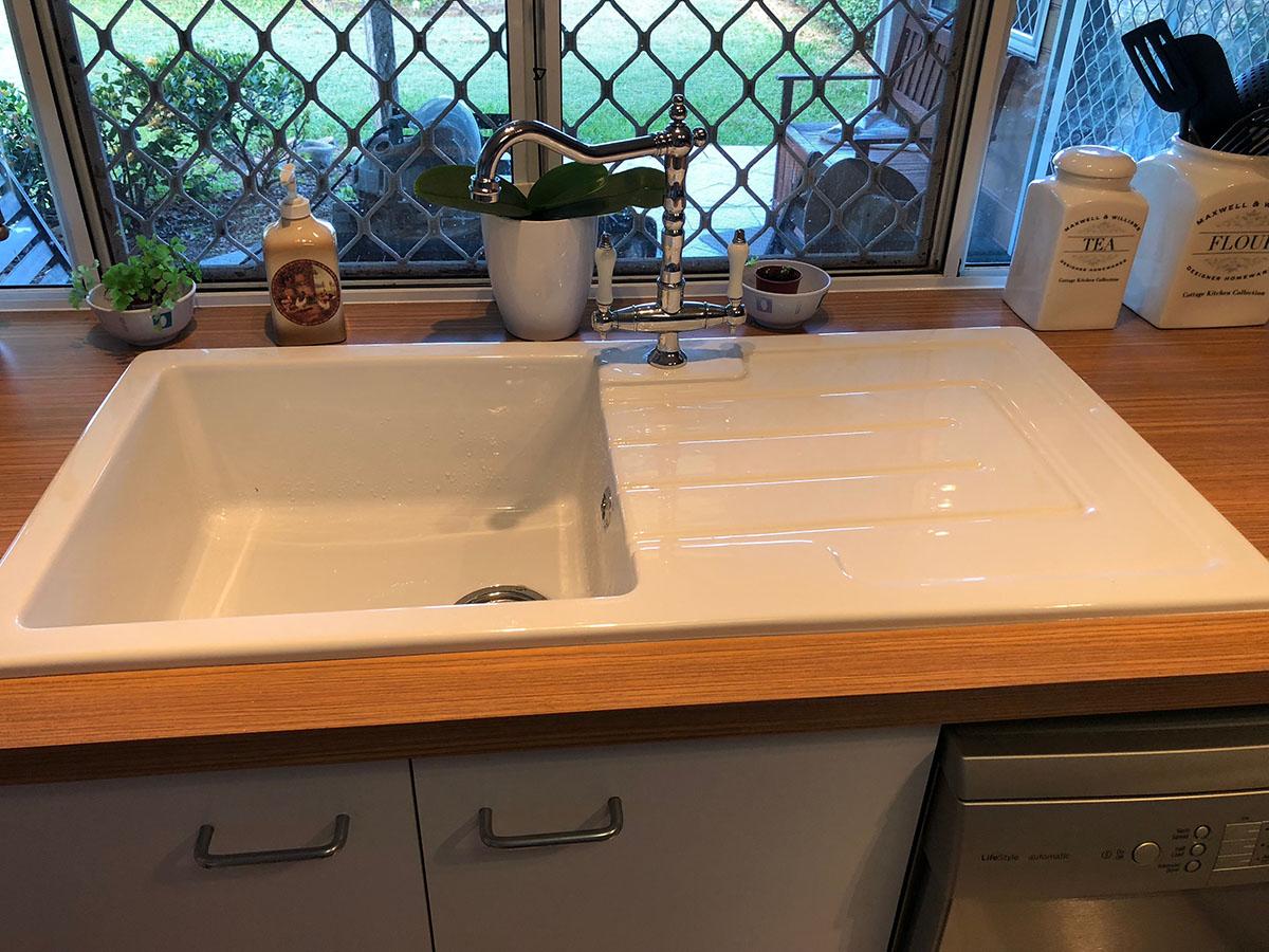 WJS plumbing Kitchen Sink