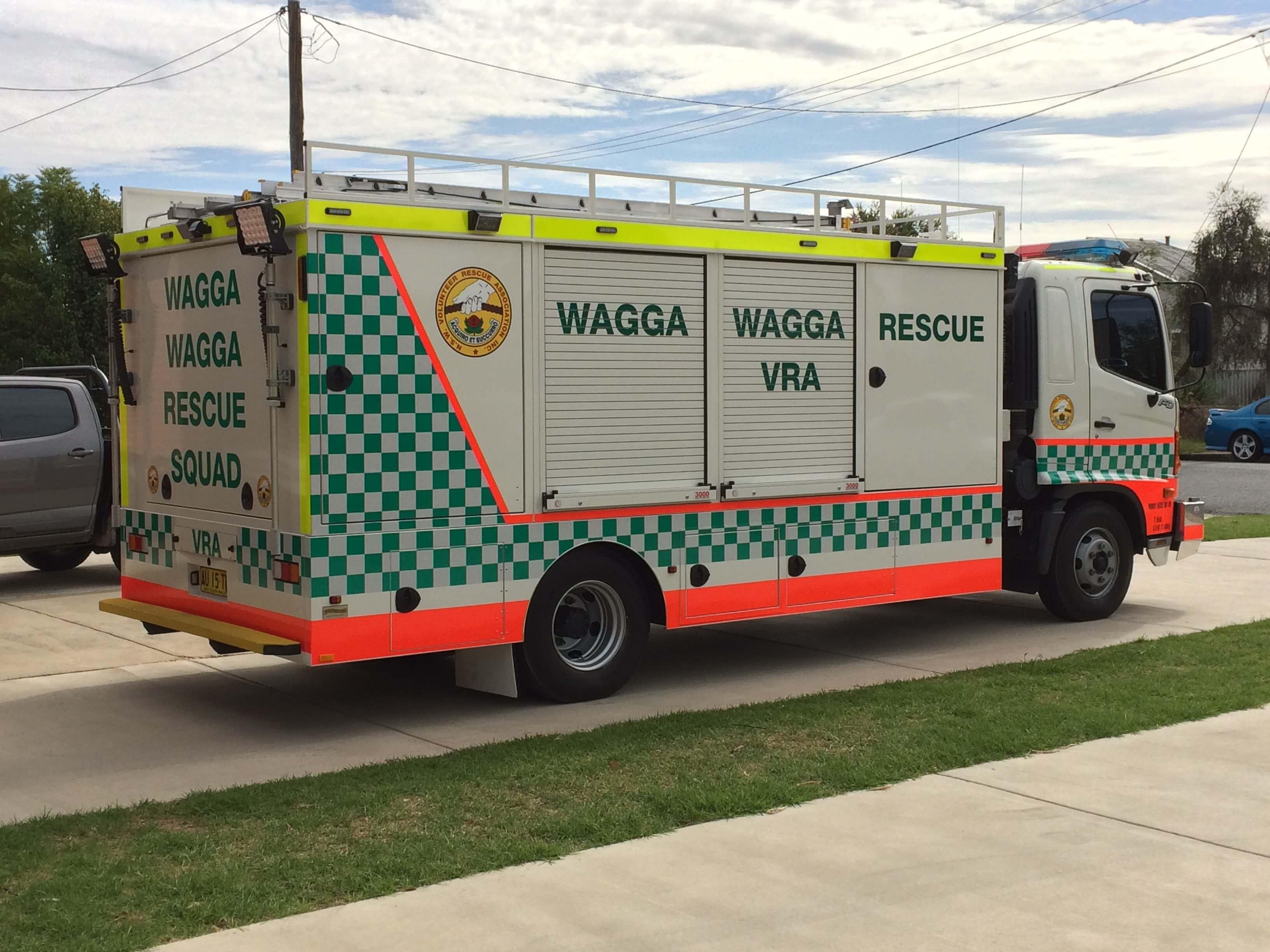 Vra Rescue Vehicle