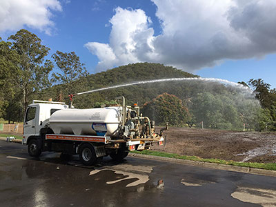 Turf Watering QLD Water Supply water truck hire