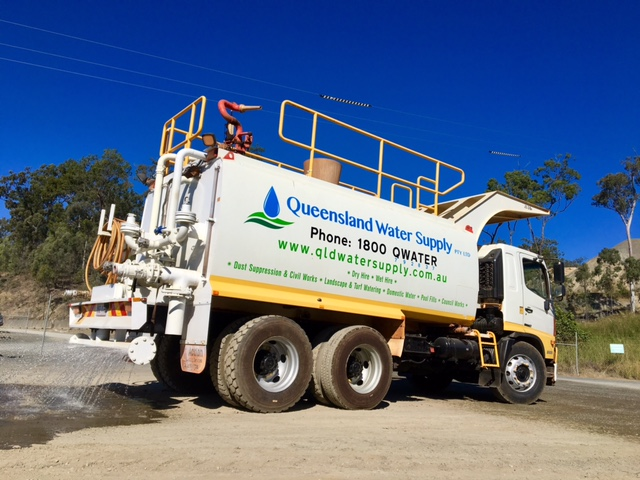 Queensland Water Supply Gold Coast water truck hire