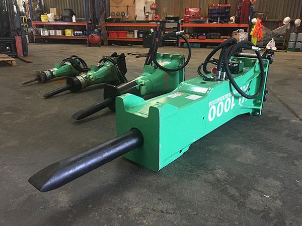 XL1000 1 4 tonne hammer