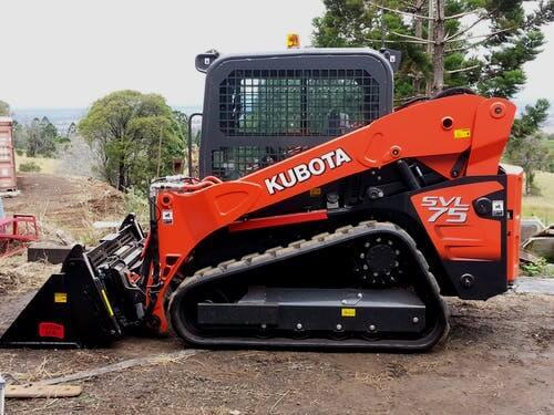 Kubota SVL75 Rosewood bobcat hire