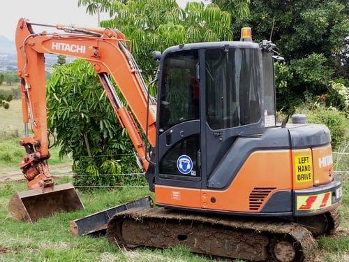 Hitachi ZX60USB Yeoman Earthmoving excavator Rosewood