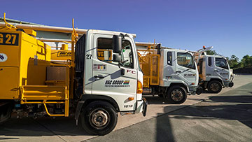 Vacuum excavator hire ormeau VAC Group