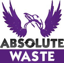 Absolute Waste Logo
