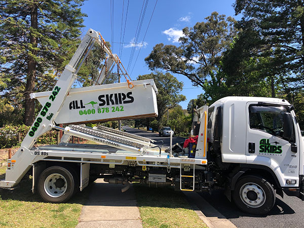 All-Skips Skik Bin Hire Blue Mountains Sydney and Penrith