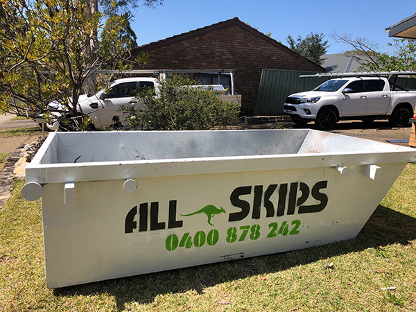 All Skips skip bin hire locations Sydney Blue Mountains and Penrith