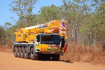 95T All Terrain Crane