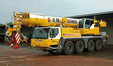 A.M. Cranes and Rigging All Terrain Crane Hire