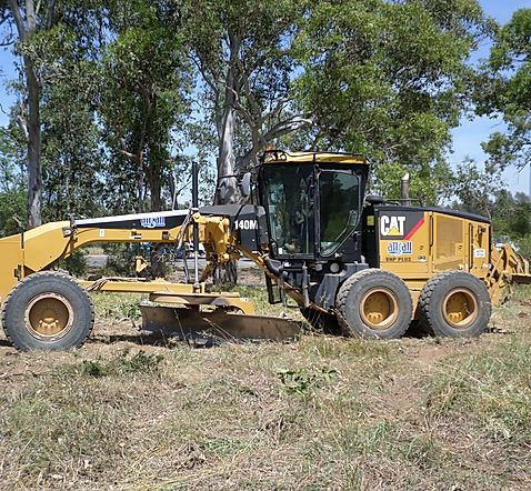 Attcall Civil Contractors Graders for Hire