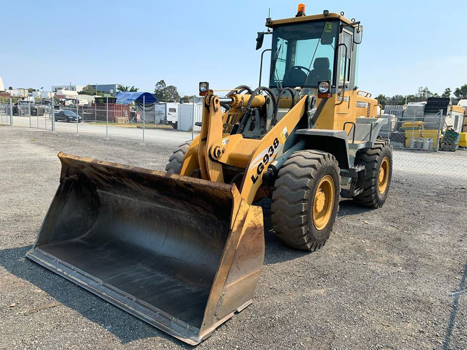 AusQuip Plant Hire Wheeled Loader Hire