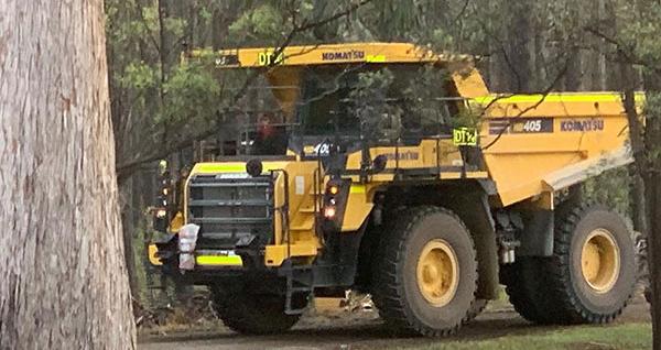 Australian Earth Training dump truck operator training