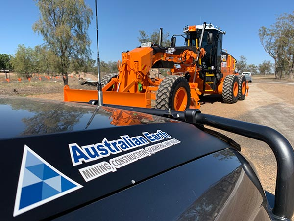 Australian Earth Training bobcats and skid steer loaders for hire