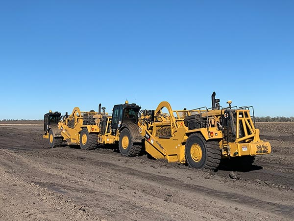 Australian Earth Training scraper operator training