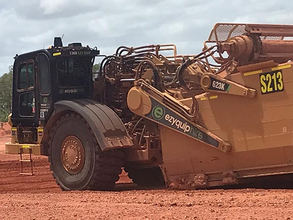 Australian Earth Training grader operator familarisation training