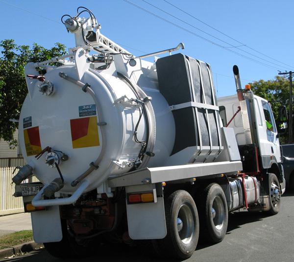 Beaudesert Liquid Waste Truck
