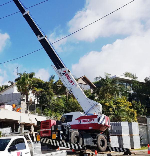 16t Mobile Crane Hire