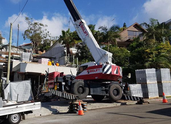 Expert Crane Operators Across Sydney