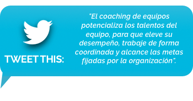 tweet - coaching de equipos