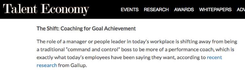 El rol del jefe esta cambiando segun un estudio de Gallup