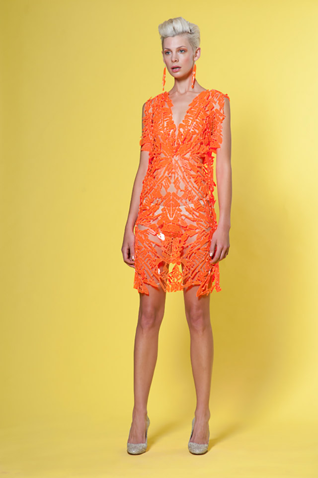 Tessa Blazey & Alexi Freeman: Neon Relic Dress