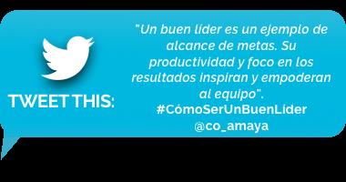 tweet - Numero 4: Productividad y orientación a resultados