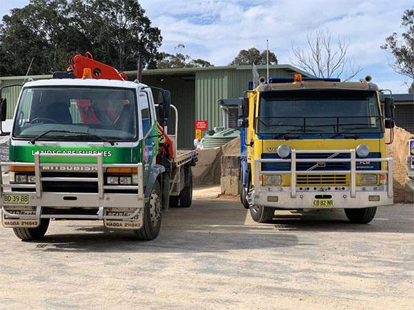 Cre8tive Landscape Supplies truck hire eurobodalla shire