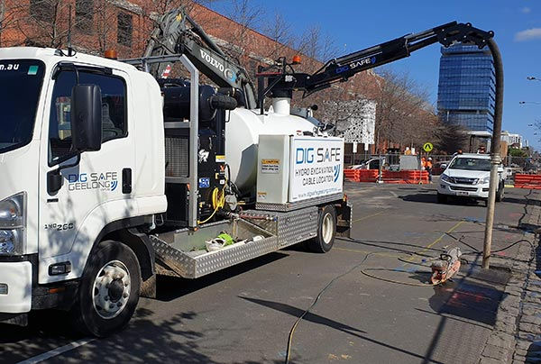 Dig Safe Geelong Vacuum Truck Hire