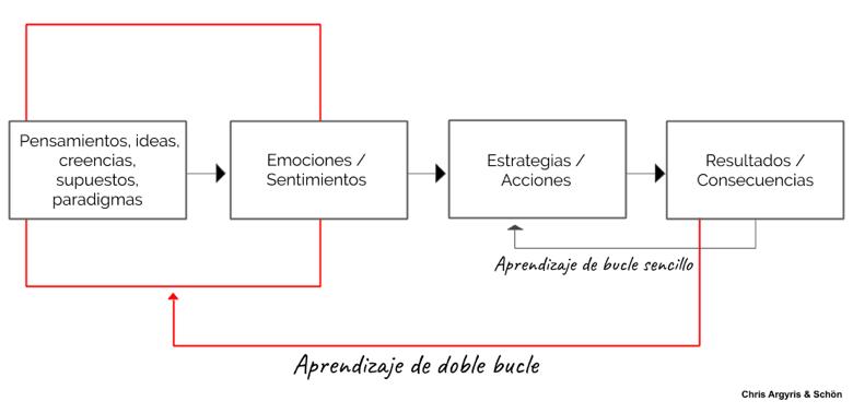 el aprendizaje de doble bucle