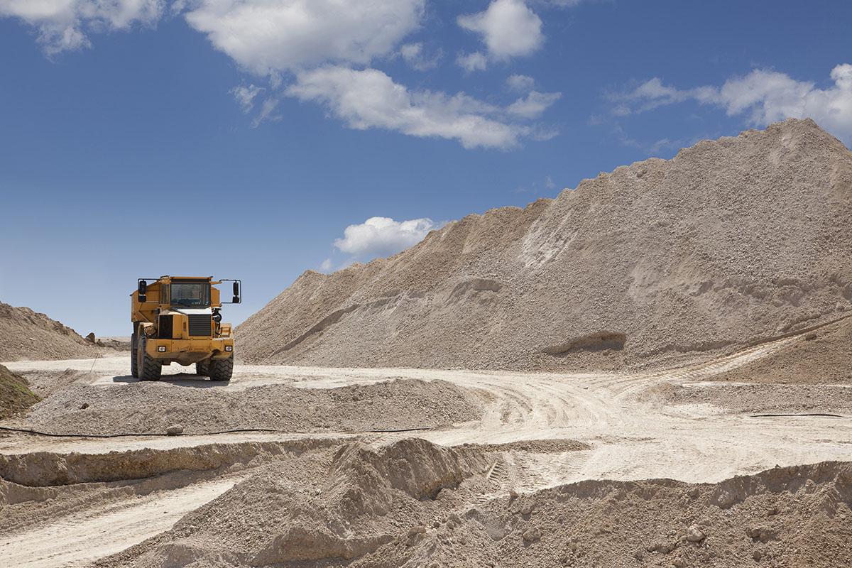 Peters Earthmoving dump trucks