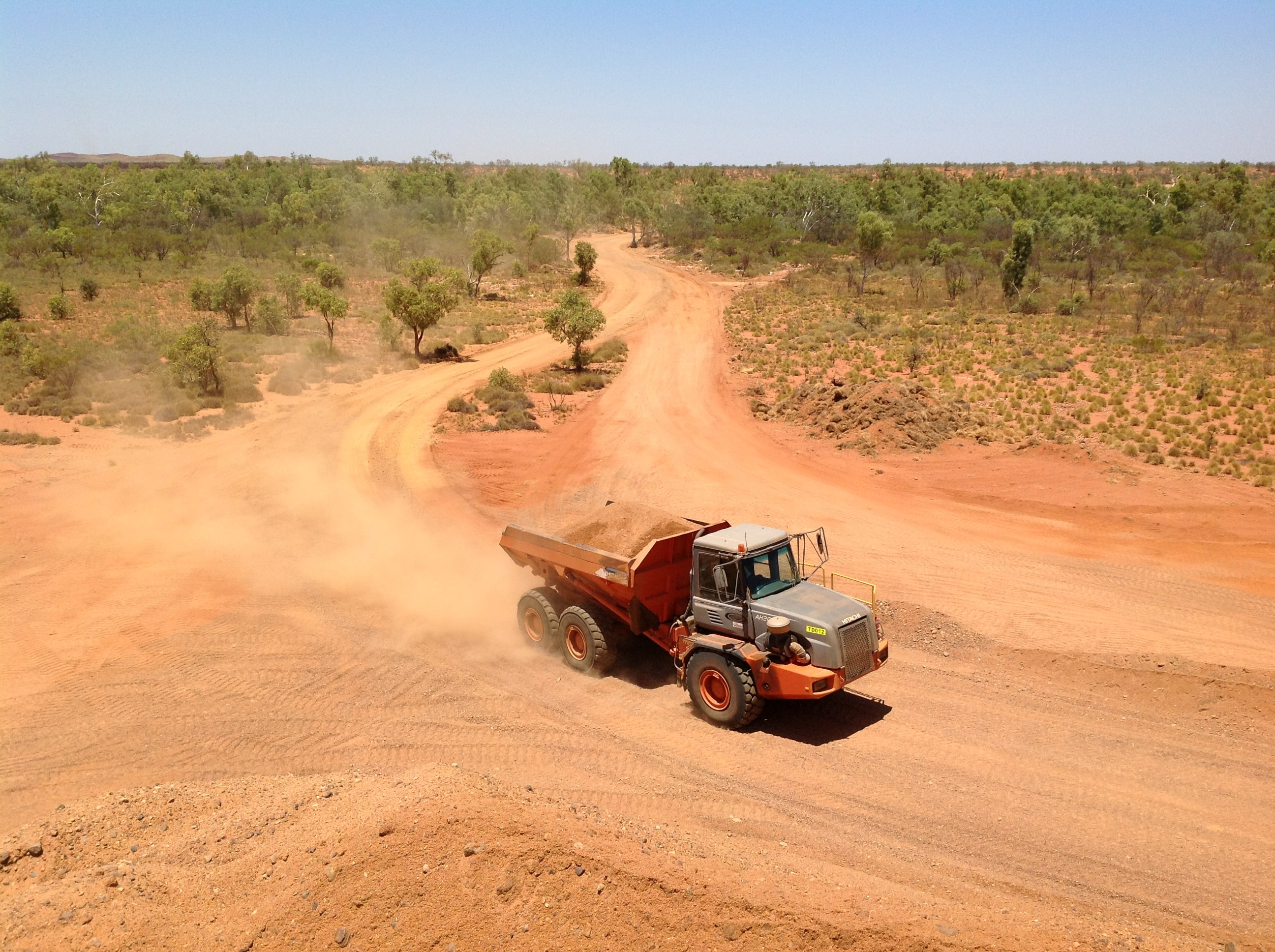 30 tonne articulated dump truck hire vernice western australia