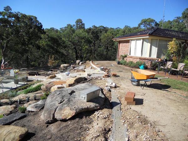 earthscape-BOBCAT and skid steer hire-landscape