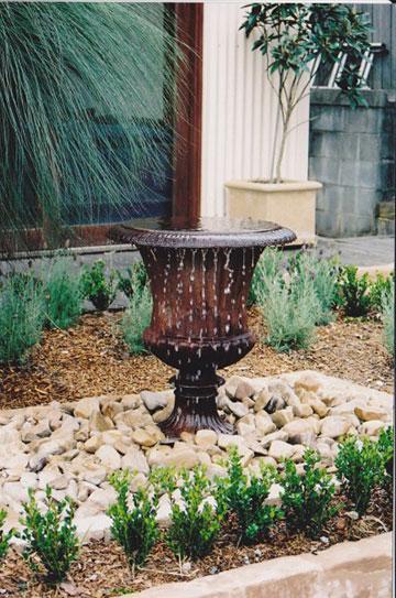 Mosman-earthscape garden irrigation-fountain