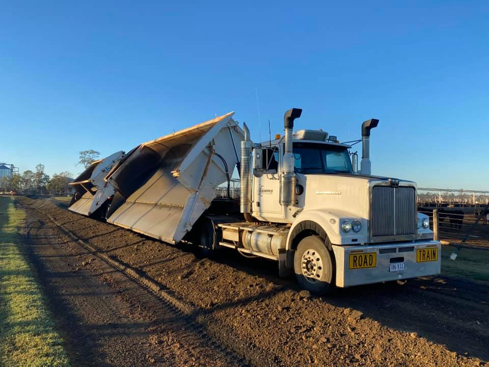 Equipped-Civil-and-Earthmoving-Truck-Float-Excavator-civil-construction-Brisbane