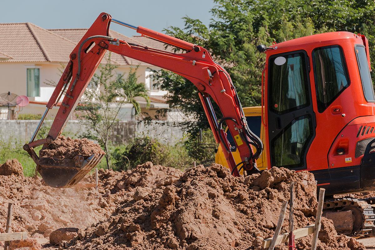 excavator mini 1