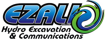 Ezali Hydro Excavation and Communications Logo