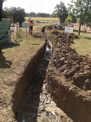 Ezali Hydro Excavations & Communications Trenching in Toowoomba