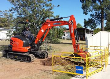 Ezali Hydro Excavations & Communications Excavation in Toowoomba